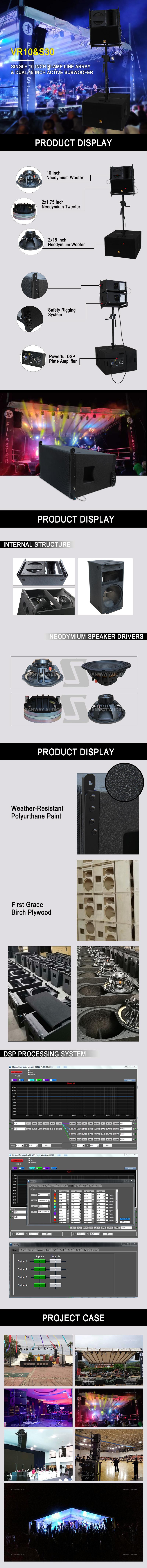 VR10&S30 active speaker system details