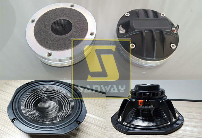 VR10 10 inch woofer and 1.75 inch drivers